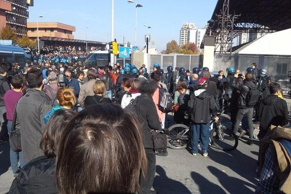 Bologna manifestazione contro salvini