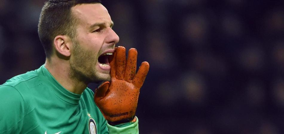 Atalanta-Inter parata Handanovic