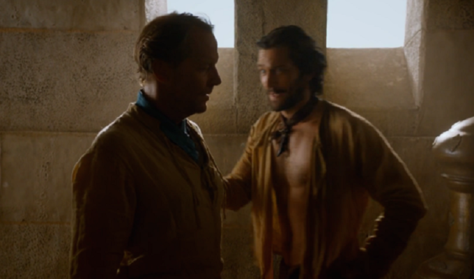 game of thrones 6 jon snow contro ramsay