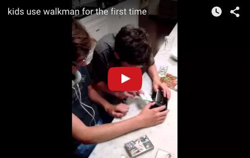 walkman nativi digitali