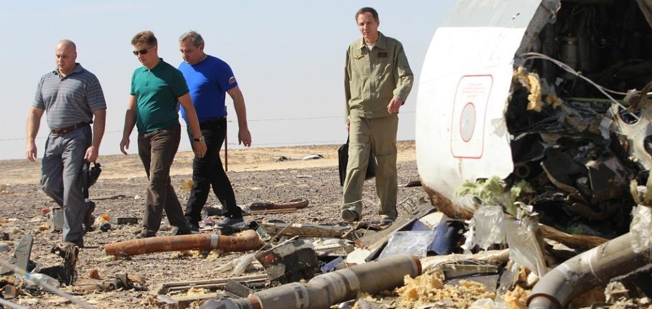 aereo russo caduto in egitto
