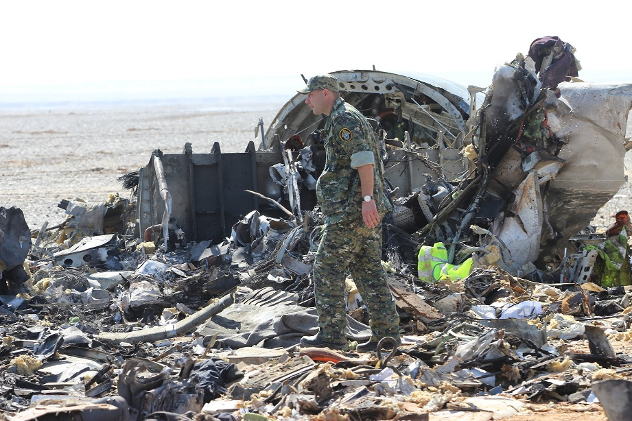 aereo russo caduto
