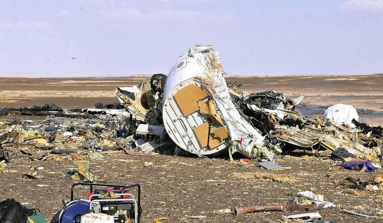 aereo russo precipitato attentato