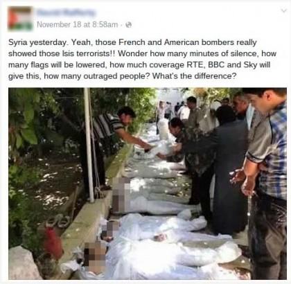 bambini morti siria bombardamenti francesi