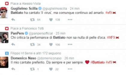 battiato x factor 9