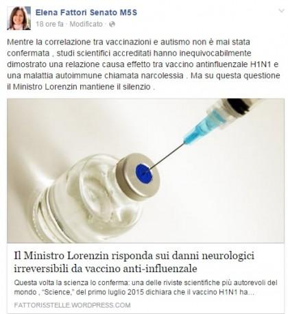 elena fattori vaccini