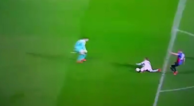 europa league gol stupido