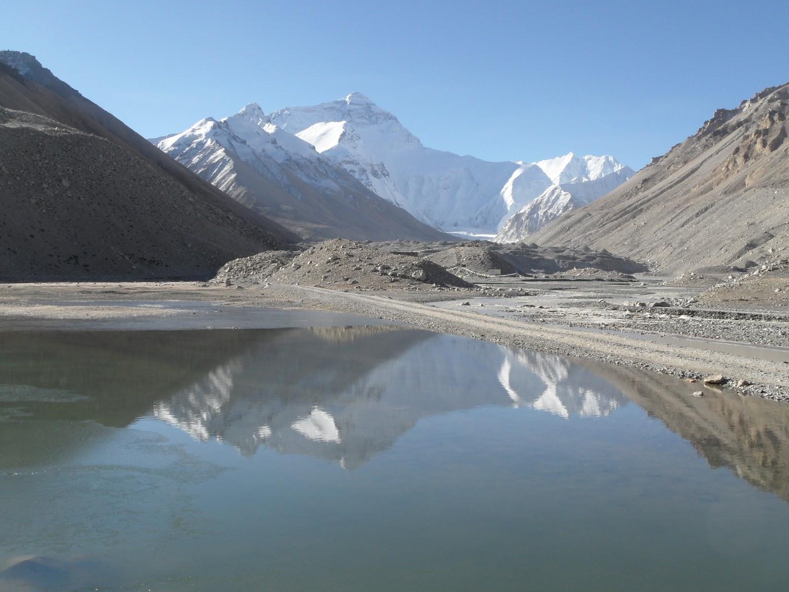Un lago himalayano (Fonte Wikipedia- pubblico dominio)