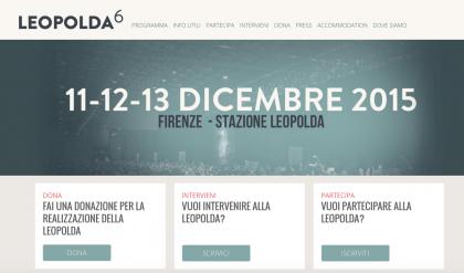leopolda 2015 sito internet
