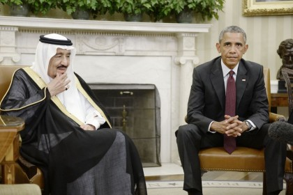 President Obama Hosts Saudi King Salman Bin Abd al Aziz At The White House