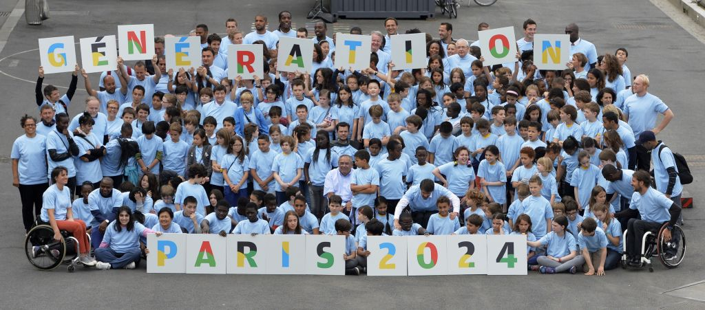 Il lancio della candidatura di Parigi per le Olimpiadi 2024  (Photo credit MIGUEL MEDINA/AFP/Getty Images)