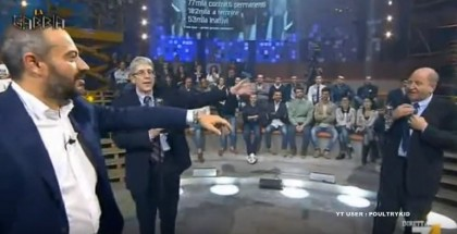 Fabrizio Rondolino Mario Giordano leccare il culo a renzi video