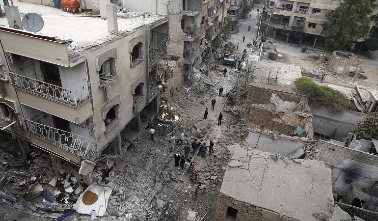 russia bombardamenti in siria