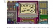 L'omaggio dei Simpson alle vittime delle stragi di Parigi