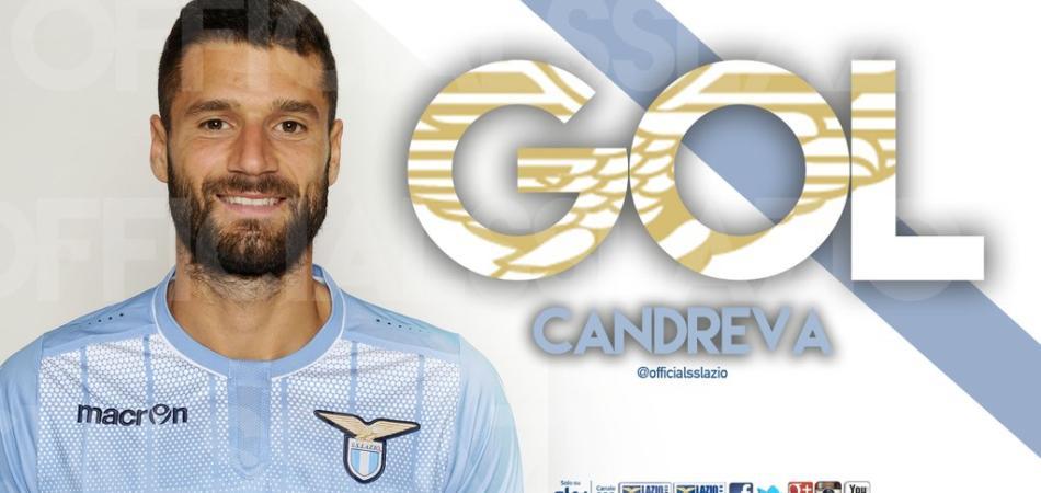 Inter-Lazio gol Candreva