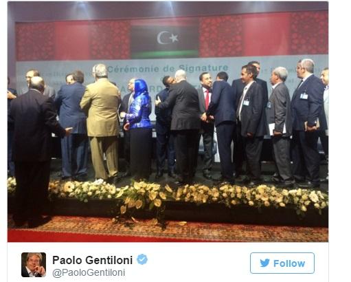 Libia, firmato accordo Onu per governo di unità nazionale
