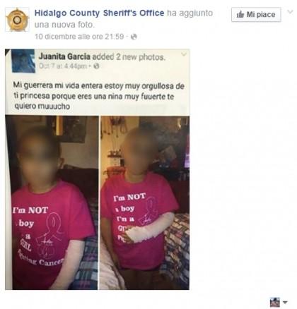 bambina cancro raccolta fondi truffa