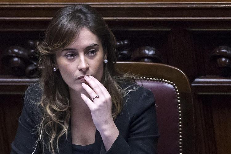 Maria Elena Boschi in Aula