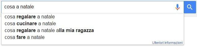 natale ricerche google cosa