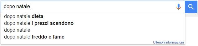 natale ricerche google dopo natale