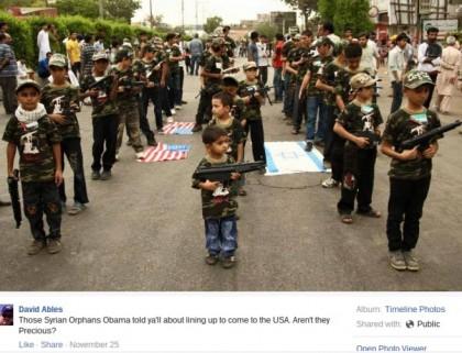 bambini siriani armi stati uniti