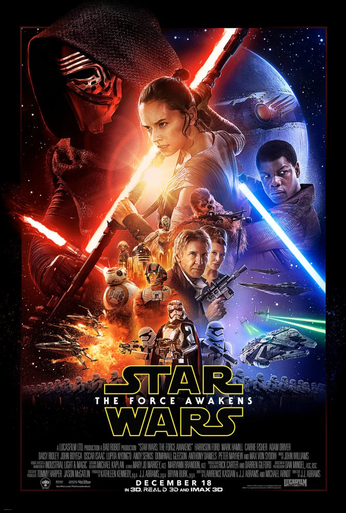 star wars VII risveglio forza manifesto