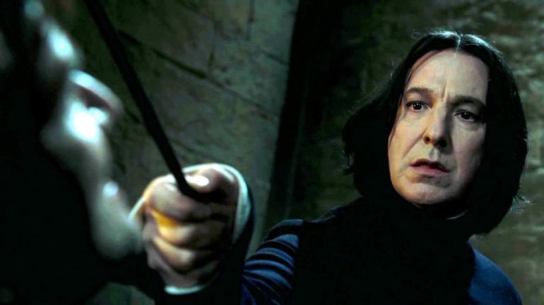 Addio al Severus Piton di Harry Potter, Alan Rickman