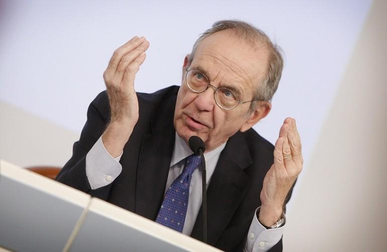 Banche, Padoan: trovato l'accordo con Ue sul meccanismo di garanzia