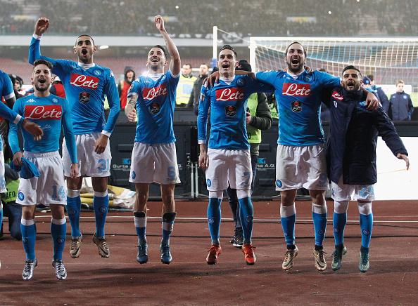 Napoli-Sassuolo diretta live