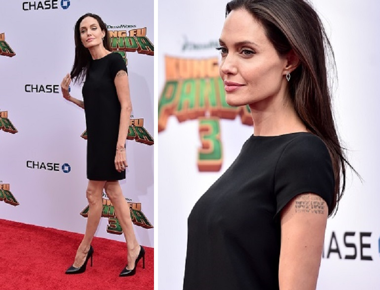 Angelina Jolie magrissima sul red carpet: torna lo spettro dell'anoressia?