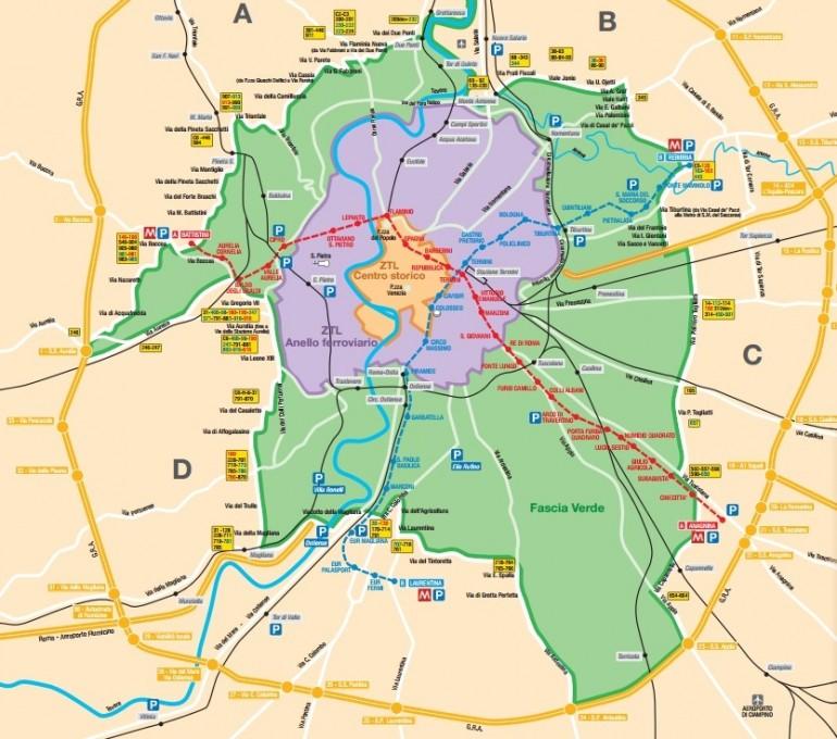 domenica antismog roma 31 gennaio 2015 fascia verde