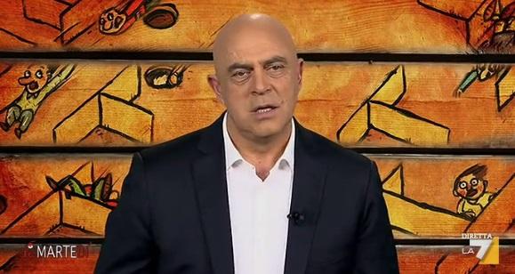 Maurizio Crozza a DiMartedì del 26 gennaio 2016