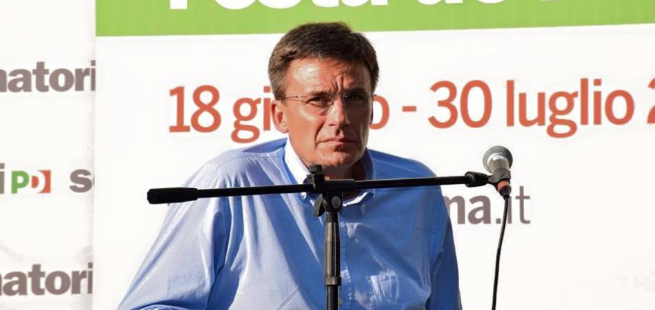 ROBERTO MORASSUT CANDIDATO PRIMARIE PD ELEZIONI ROMA 2016