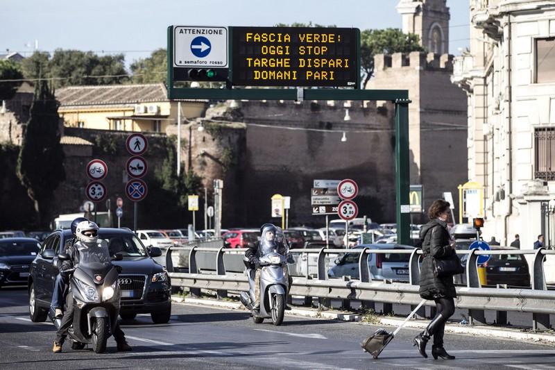 Roma domenica a piedi