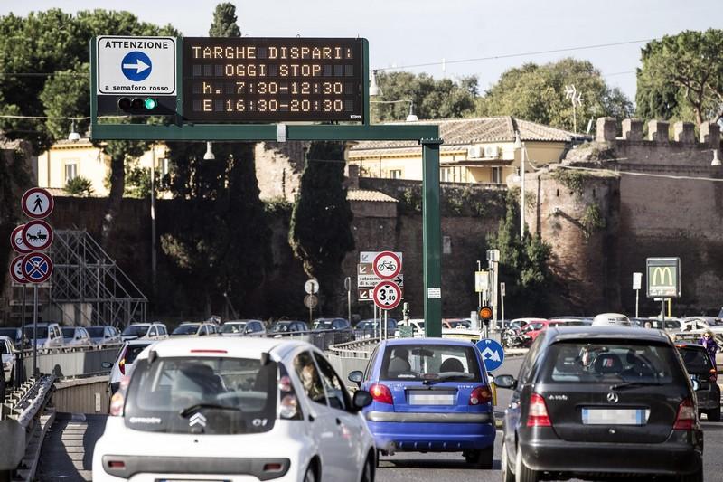 Roma domenica antismog targhe alterne