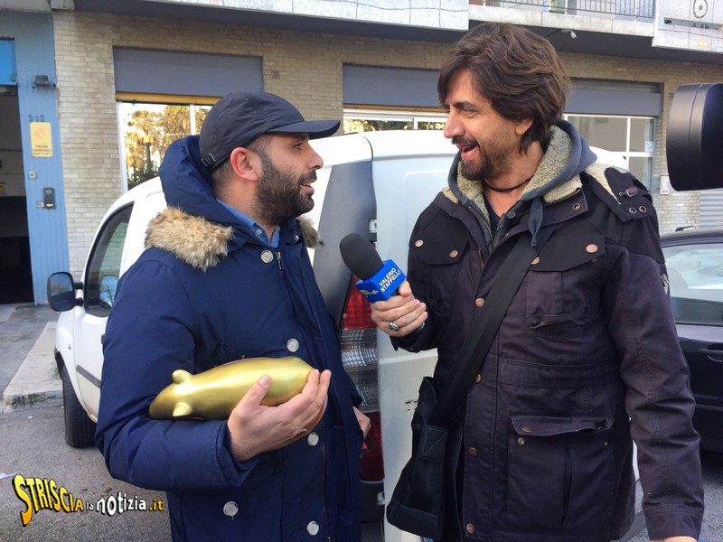 Striscia La Notizia Checco Zalone
