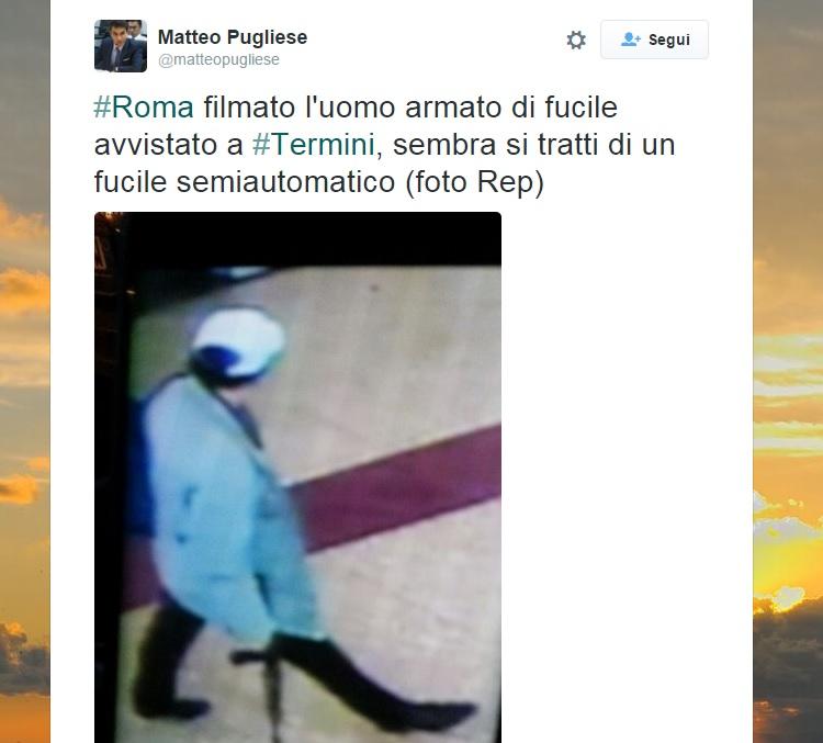 Roma termini evacuata
