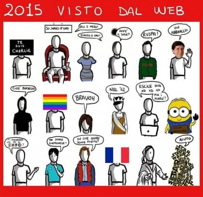 """Esempi di """"ggente"""" e comportamenti social 2015"""