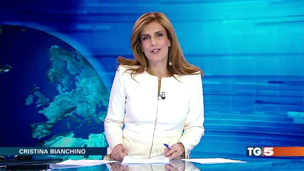 Cristina Bianchino, malore in diretta per la conduttrice del Tg5