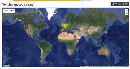 mappa twitter non funziona