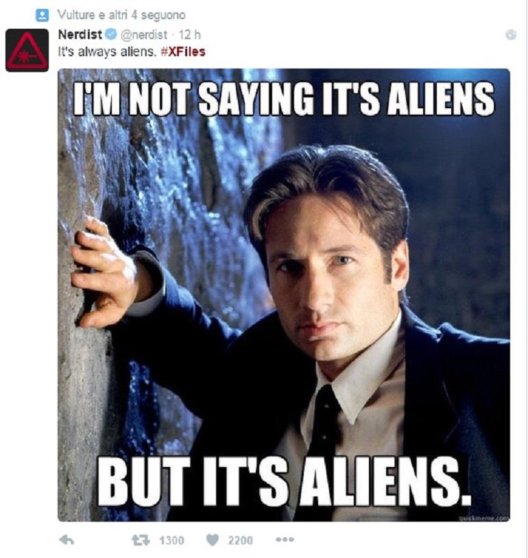 X-Files ritorna con la stella David Duchovny