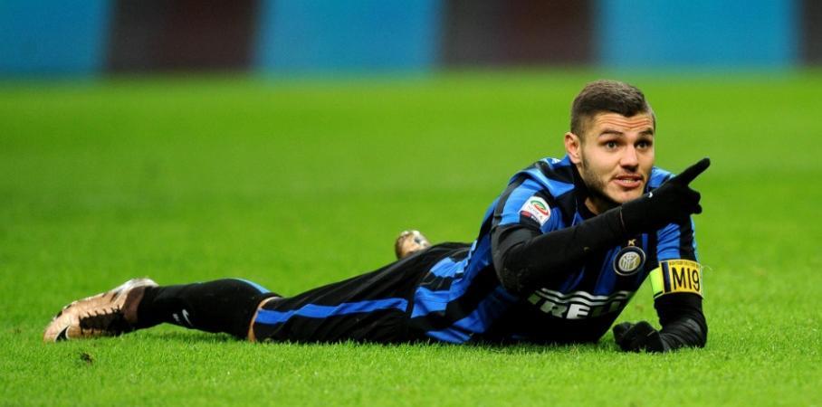 Mauro Icardi Curva Nord Inter
