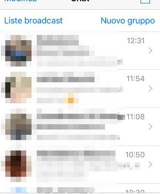 whatsapp sapere con chi parla di piu