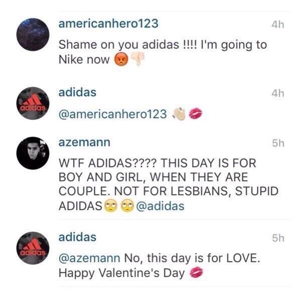 """""""Vergogna, passo a Nike!"""" """"Saluti e baci"""""""