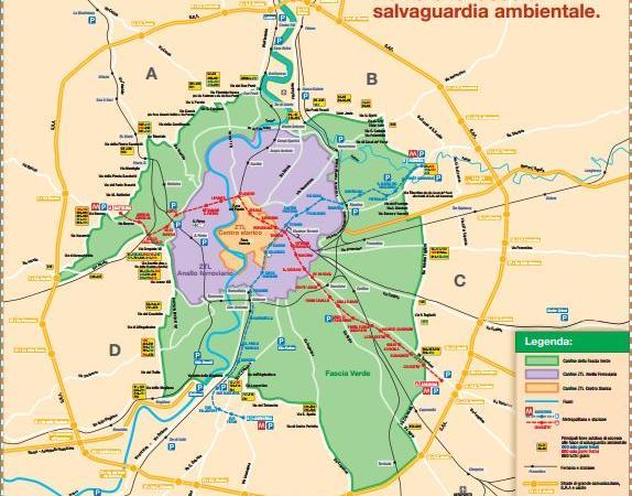 blocco del traffico roma domenica 28 febbraio 2016 fascia verde