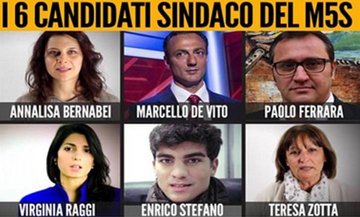 candidati m5s roma
