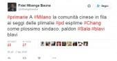 Il giornalista Bauna sfotte i cinesi alle primarie Pd di Milano: «#Blavi». Polemica su Twitter