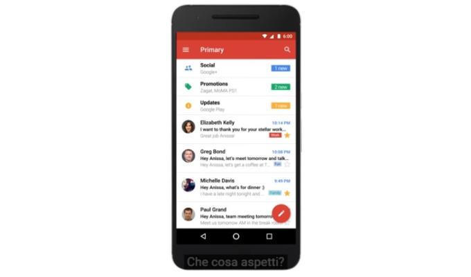 Gmail senza account Google