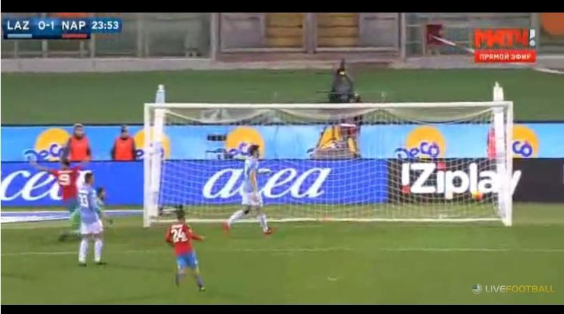 Lazio-Napoli video gol highlights