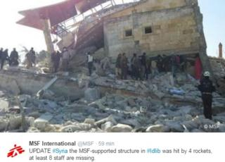 siria ospedale msf